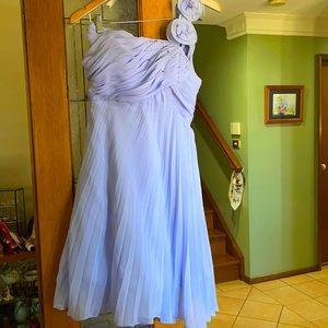 Mauve formal dress size 10